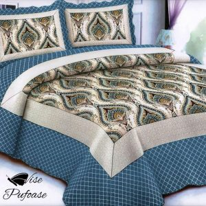 Cuvertură de Pat Azur Beautiful Design + 2 Fețe de Pernă 2 (2)