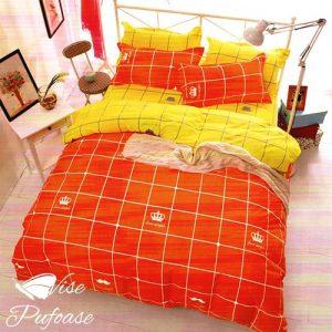 Lenjerie de Pat Royal Orange
