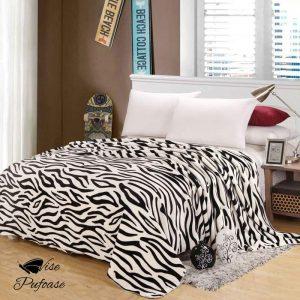 Pătura Zebra Fleece